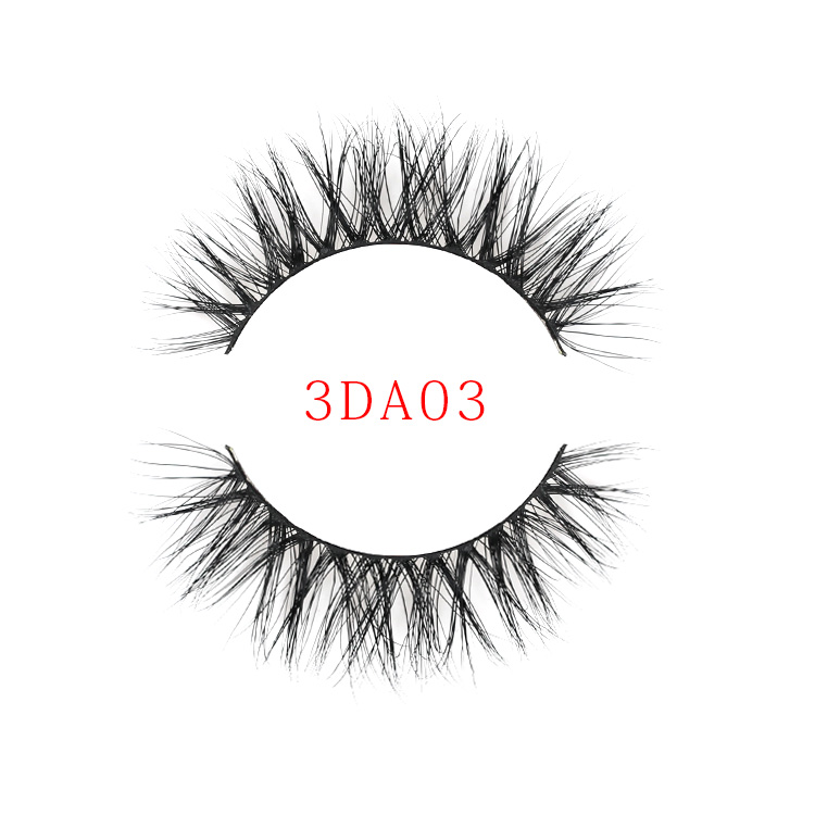 Luxury Thick Makeup Qingdao Super Natural False Mink Strip Eyelashes