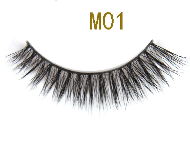 Wholesale Best Quality Custom Packaging Horse Fur Strip False Eyelash