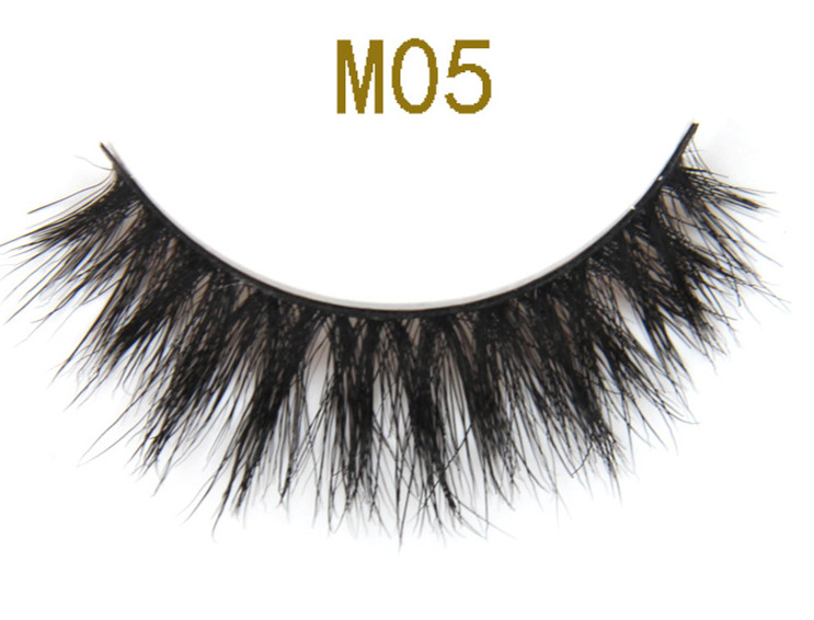 2018 New Style 3D Horse Fur strip False Eyelashes