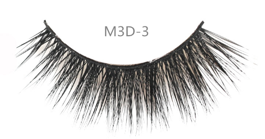 Wholesale Private Label Silk Strip Eyelashes 3D Faux Mink False Eye Lashes Synthetic Fiber