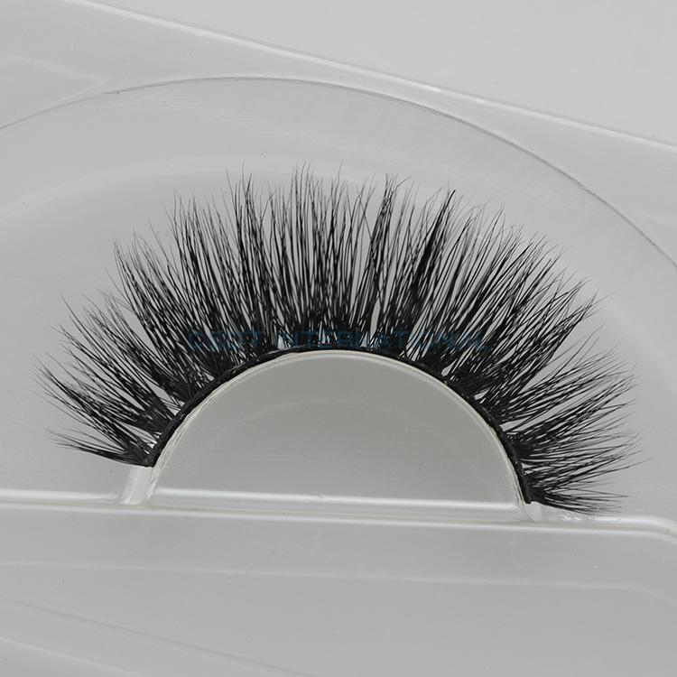 Top Quality Luxury Dense Feature Real Mink Fur False Eyelashes