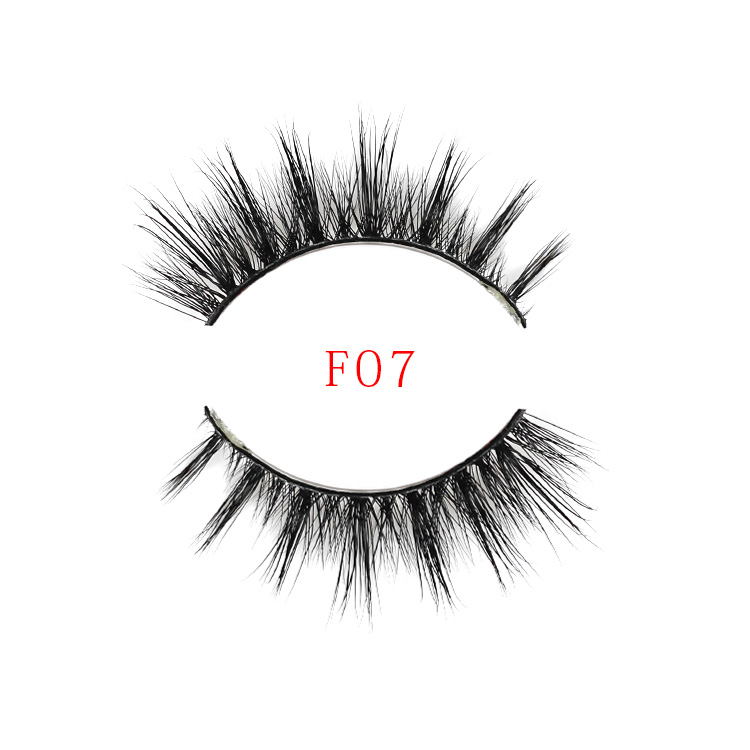 Quality Guaranteed Strip Private Label 3D Mink False Eyelashes