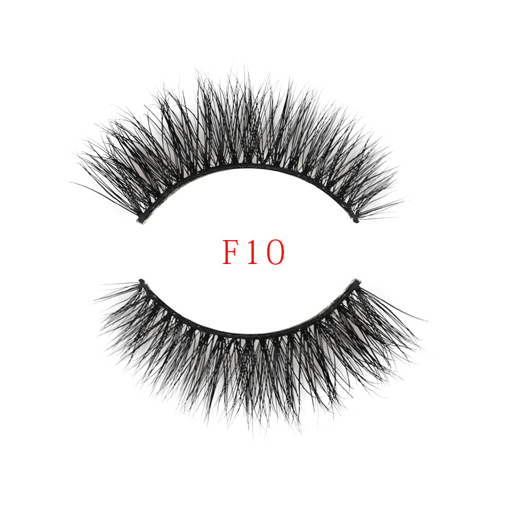 3D Mink Strip Eyelashes Wholesale False Eyelashes and Customize Packaging